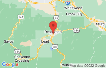 Map of Deadwood